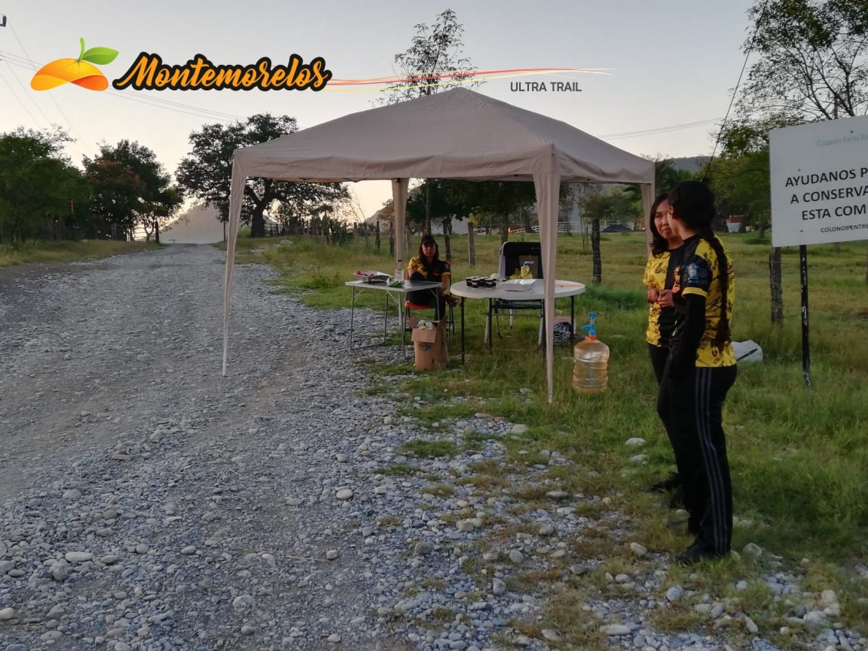 Voluntarios para Ultra Trail Montemorelos